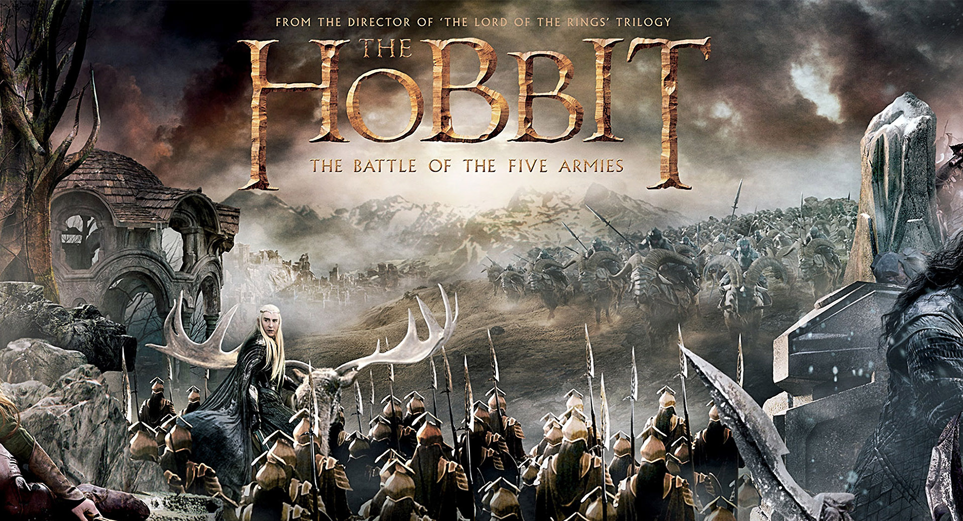 The Hobbit: Battle of the Five Armies and Writing